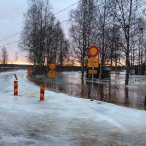 Hyyde aiheuttaa Kiettareehaarassa tulvimista