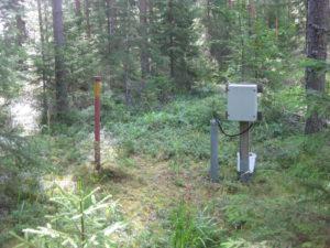 kuva pohjaveden mittauspisteestä