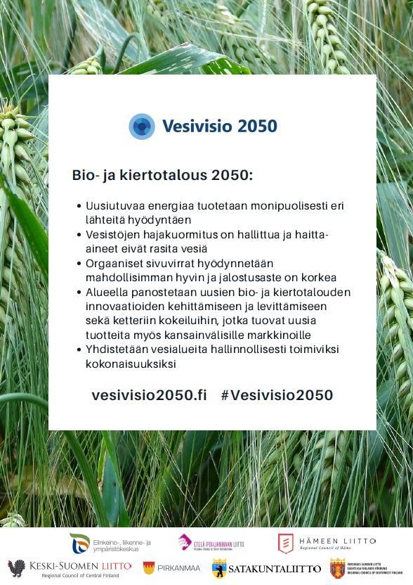 Bio- ja kiertotalous -A3-juliste.