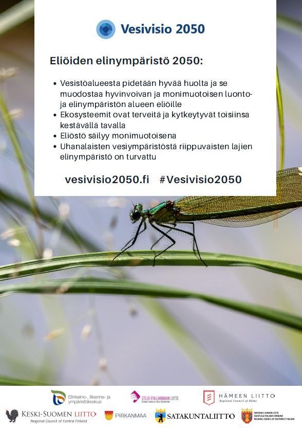 Eliöiden elinympäristö -A3-juliste.
