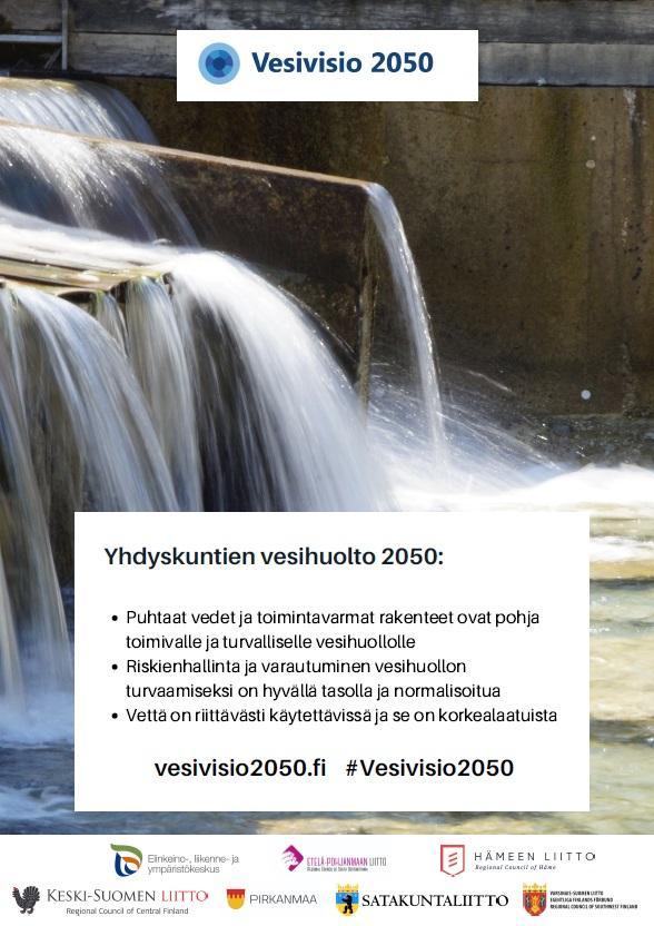 Yhdyskuntien vesihuolto -A3-juliste.