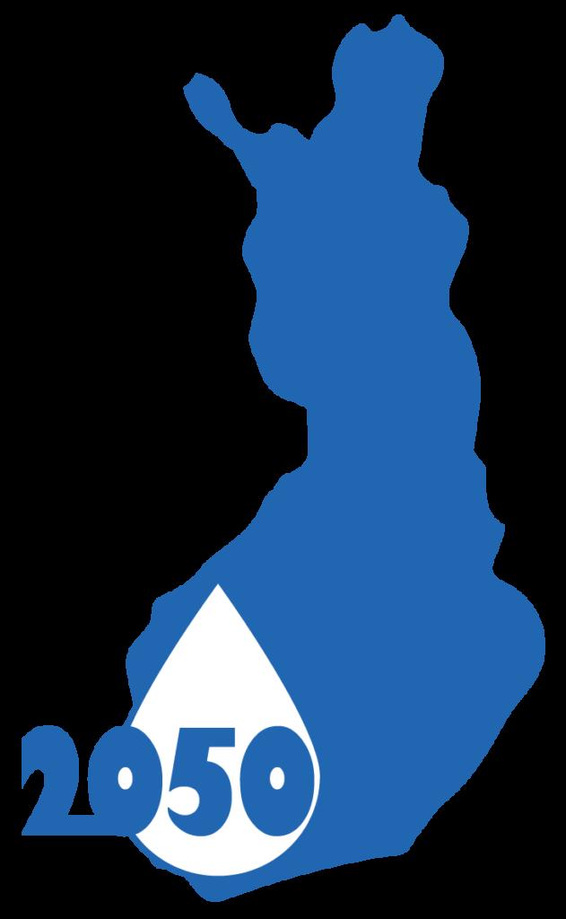 Suomenkuva, jossa lukee 2050.
